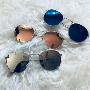 "Round ""Julie"" sunglasses"